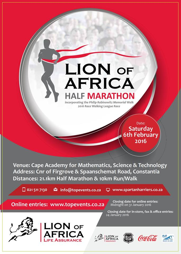Lion of Africa race