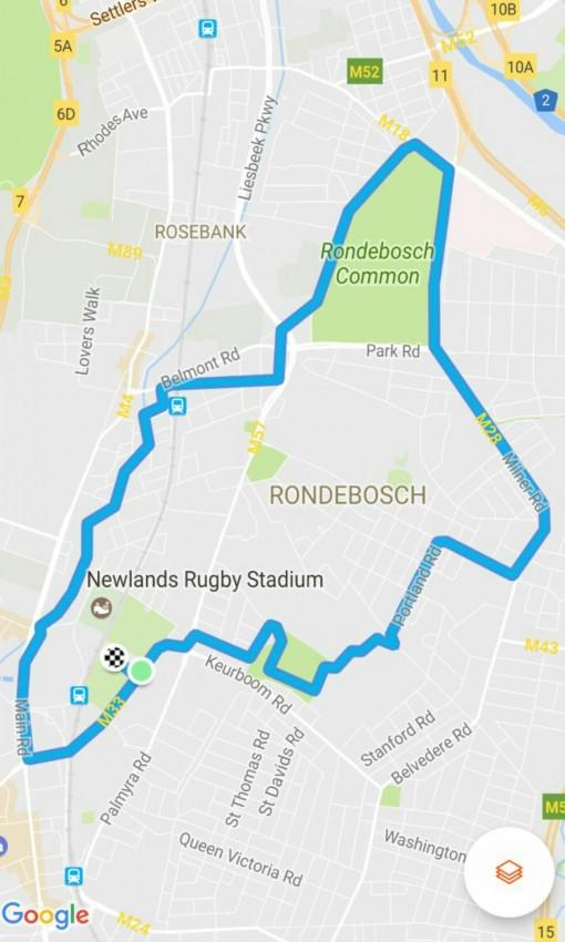 Central Race 2017 final Route 2017
