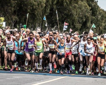 Cape Town Marathon start pic