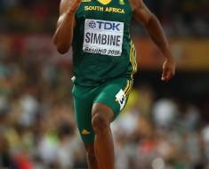 Simbine smashes SA 100m record