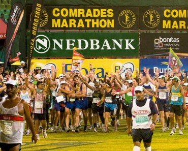 Comrades 2016 finish