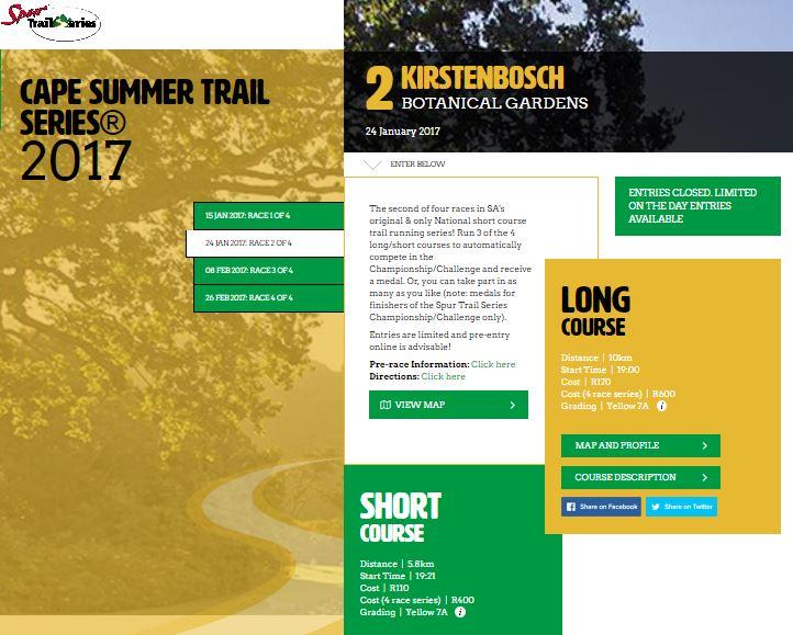Summer Trail Series
