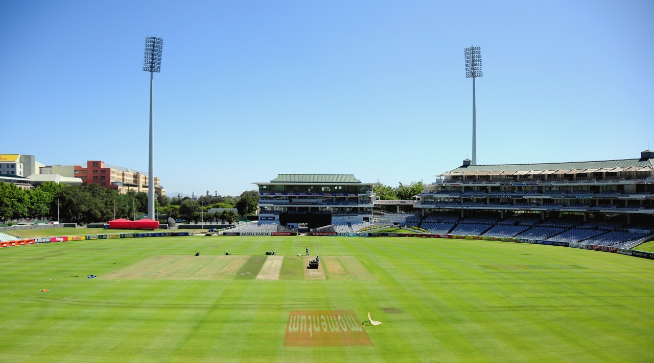 CAPE TOWN, SOUTH AFRICA - DECEMBER 05, General view of the Stadium during the South African national cricket team arrival media conference at Sahara Park Newlands on December 05, 2012 in Cape Town, South Africa Photo by Grant Pitcher / Gallo Images