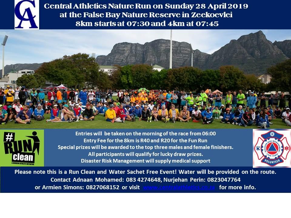Nature Run 2019 poster